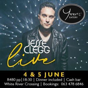 JESSE CLEGG Live